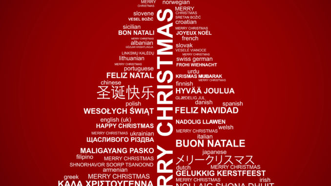 50 ways to say merry christmas